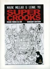 SUPER CROOKS #3 1:10 INCENTIVE VARIANT COVER