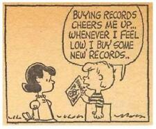 Peanuts # 11 - 8 x 10 Tee Shirt Iron On Transfer buying records