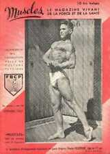 MUSCLES 16 1947 Bodybuilding Beefcake young physique Magazine boy GAY interest