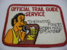 OFFICIAL TRAIL GUIDE... Embroidered Harley Biker Patch