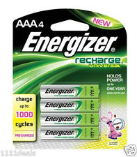Energizer Pre-Charged Rechargeable AAA Battery 4 Pack UNH12BP-4