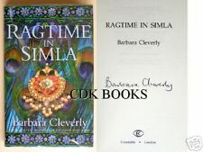 BARBARA CLEVERLY RAGTIME IN SIMLA UK SIGNED + POSTCARD
