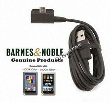 NEW Genuine Barnes & Noble NOOK COLOR Charger Sync Cable Cord Charge Charging