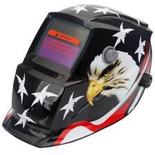 Eagle&Star PRO Solar Powered Auto Darkening Arc Tig Mig Welding Helmet Black US