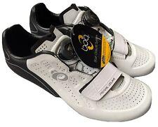 Pearl Izumi Womens Size 8.5 EU 39.5 Select Road V5 White/Black Biking Shoes