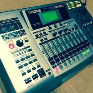 Boss BR-1200CD Digital Aufnahme Workstation Studio Mt-R Cd-R