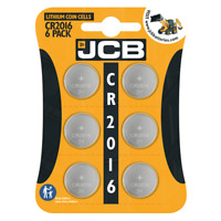 JCB CR2016  3V Lithium Button Coin Cell Battery DL2016 BR2016