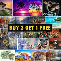 DIY Full Drill 5D Diamond Painting Embroidery Cross Stitch Kits Art Decoration