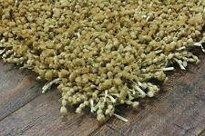 Beige damro shaggy moderne fait main tapis échantillon, taille: 15cmX15cm