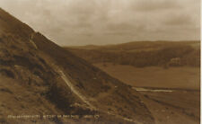 PC55116 Aberystwyth. Ascent of Pen Dinas. Judges Ltd. No 11200