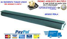 Moquette acustica adesiva COLORE GRIGIO PERLA foglio 140x70cm auto car audio