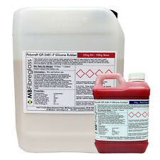 Polycraft GP-3481-F RTV Silicone Mould Making Rubber 22kg Kit (Red Catalyst)