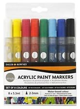 Daler-Rowney Markers Acrylic Paints