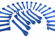 27 PC AUTOMOTIVE INSTALLER TRIM MOLDING WINDSHIELD DASH REMOVAL WEDGE TOOL SET