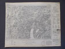 Landkarte, Karte des Deutschen Reiches 637 Landsberg in Bayern, Fürstenfeldbruck
