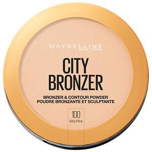 Maybelline City Bronzer Powder Makeup Bronzer and Contour Powder 100 0.32 oz