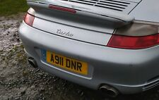 A911 DNR Private cherished personalised registration plate number Porsche 911