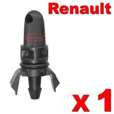 RENAULT REAR WASHER JET CLIO SCENIC MEGANE TWINGO WATER NOZZLE X1