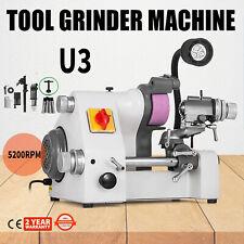 U3 Universal Cutter Grinder Sharpener Multi-func 3 Attachments Lathe Tool 220v