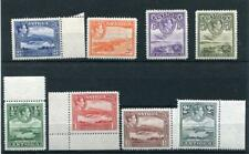 More details for antigua 1938-51 values to 5s fine mnh cat £37