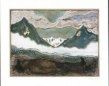BILLY CHILDISH SIGNED AND NUMBERED BENEATH THE SKY GICLEE 2015 MINT 46/200