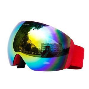 Winter Snow Sports Goggles Ski Snowmobile Snowboard Eyewear Eyes Protection