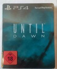 UNTIL DAWN PS4 STEELBOOK SOUS BLISTER  RARE  + JEU FR PS4 / PS4 PRO JEU EN FR