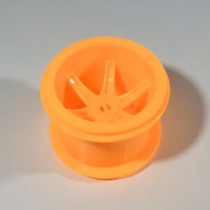 K'NEX Parts - 1 X Orange Monster Truck Hub Pulley - KNEX - Part - Spares