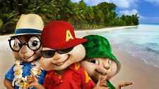Alvin and the chipmunks Poster Length :800 mm Height: 500 mm  SKU: 1584