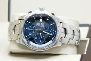 Tag Heuer Gents Link Chronograph Wristwatch Ref CJF2114