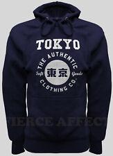 Pullover Hoodie Hooded Sweatshirt TOKYO AUTHENTIC Design Top Plain Hoody Jumper