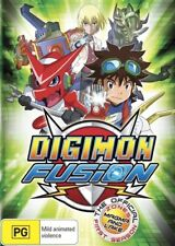 Digimon Fusion - Magma & Lake Zone : Season 1 : Eps 7-11 (DVD, 2014) - Region 4