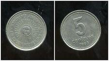 ARGENTINE 5 centavos 1993