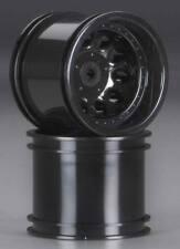 "RPM 82032 Revolver 2.2"" Rear Wheel Black Associated RC10T4 (2)"