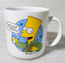 RARE Vintage Mug Cup ✱ THE SIMPSONS ✱ Collection Pottery Portugal 1992 #2