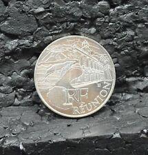 FRANCE : 10 euros des régions argent RÉUNION 2011.