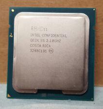 INTEL XEON QE2K ES E5-2400 2.1GHz 10-CORE PROCESSOR CPU