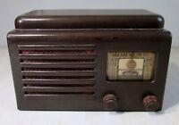 Unusual Small Vintage Melrose Tube Radio - Parts or Repair