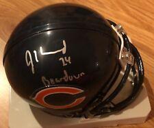 Jordan Howard  Signed Auto Riddell Chicago Bears Mini Helmet PROOF EAGLES