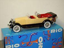 1928 Lincoln Sport Phaeton Scoperta - Rio 51 Italy 1:43 in Box *28812