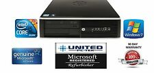 HP 8200 Elite 250GB Win 7 Professional I5 Quad Core up to 3.4GHz 4GB Desktop PC