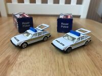 Corgi Rover Police car, toy police car, Die-cast, very good condition, boxed.