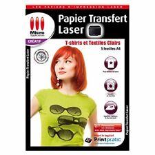 Micro Application - Papier Créatif Transfert Textile Laser