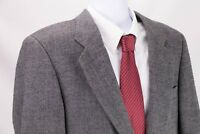 HUGO BOSS Men's 'Corleone' Donegal Fleck Gray Tweed Sport Coat Sz 40L Jacket
