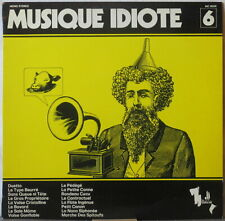 ROGER ROGER Musique Idiote LP Library Moog Record—Original on Neuilly, C. Leuter