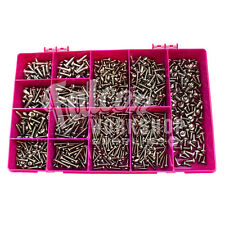900 ASSORTED STAINLESS 4g 6g 8g 10g POZI PAN HEAD SELF TAPPING TAPPER SCREW KIT