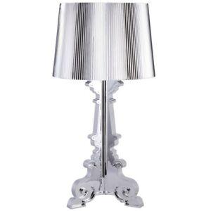Kartell Lamp - Silver - Bourgie by Ferruccio Laviani