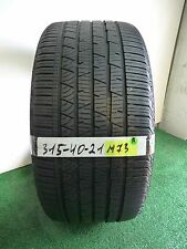 ★ Continental Cross contact LX Sport M0  315 40 21 111H ★ Used Tire 79% # M73