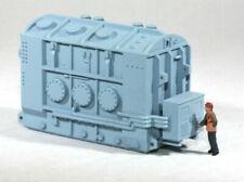 Ho Scale Hamilton High Voltage Transformer Base for Model Rr Flatcar Load Blue