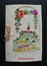 More details for postcard ww1 silk embroidered